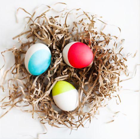 DIY egg coloring. Make your own dyeDecor Ideas, Neon Dips Di, Dips Dyed, Dips Dyes, Dips Di Eggs, Neon Dipdyed, Dipdyed Eggs, Easter Eggs, Eggs Decor