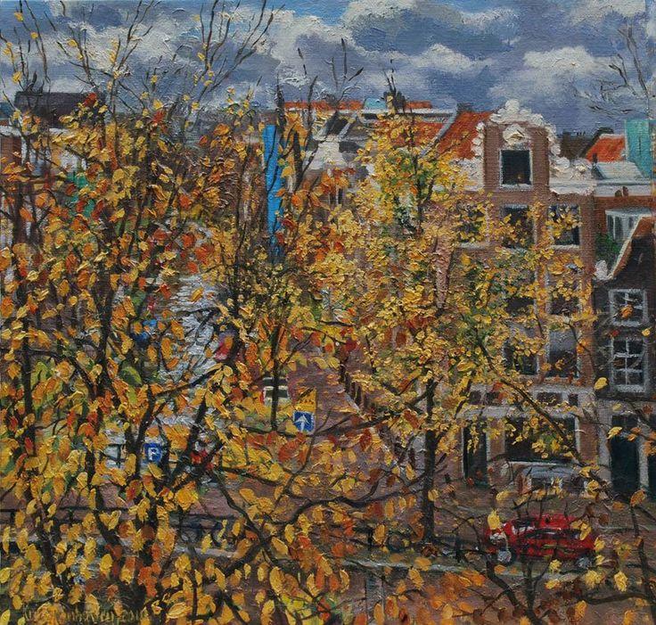 Corner Prinsengracht - Lauriergracht, Am...