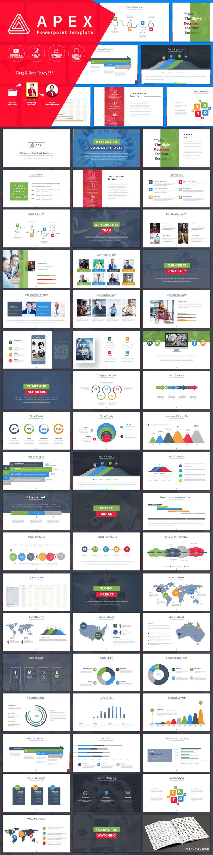 Apex - PowerPoint Presentation Template