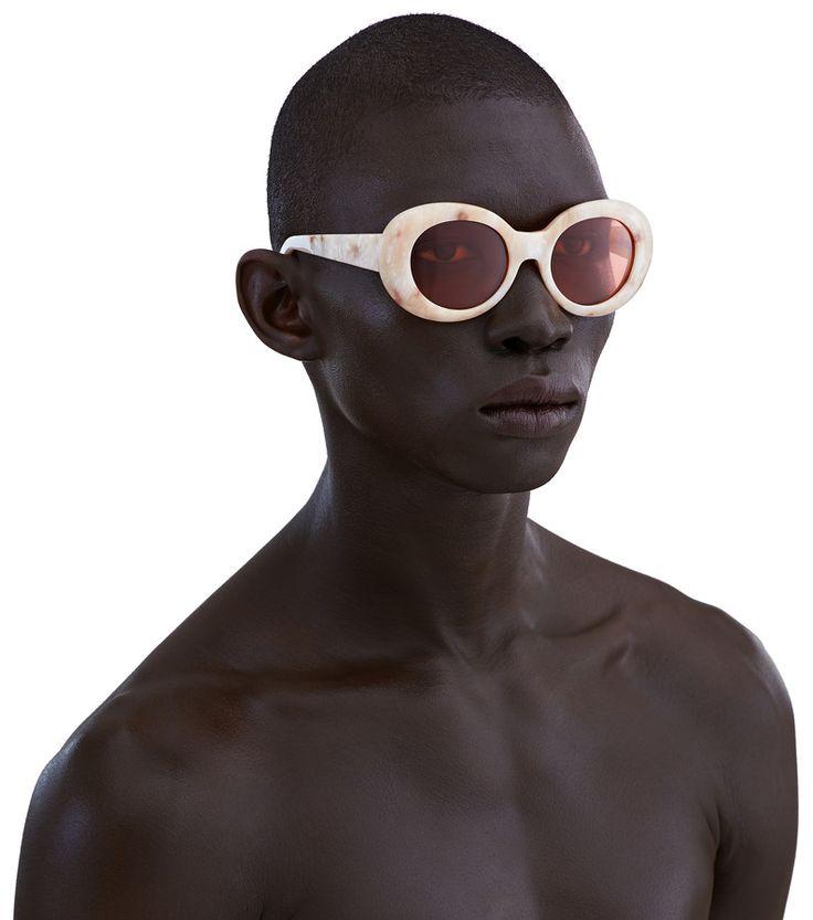 acne frame solbriller