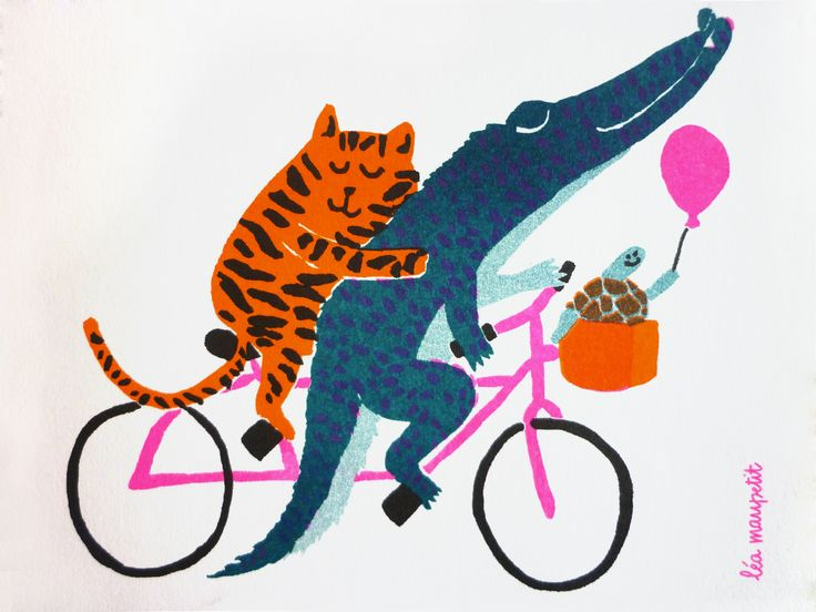 Illustratie van Léa Maupetit