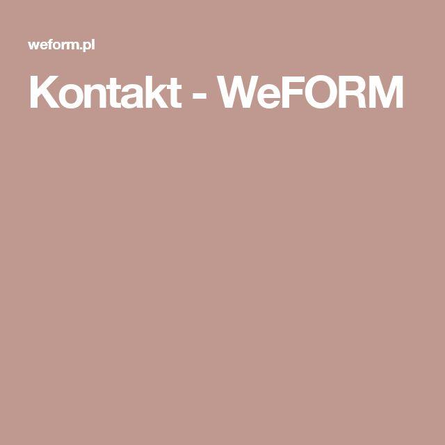 Kontakt - WeFORM