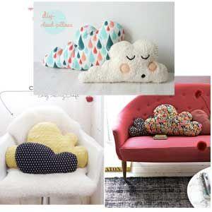 Ευκολο DIY μαξιλαρι συννεφο για παιδικο δωματιο! - DIΥ - ΡΑΨΙΜΟ - 3 DIY Cloud Pillows for KIds