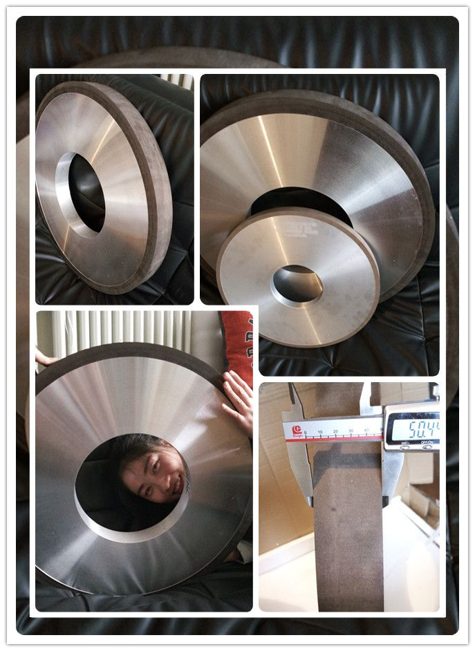 1A1 600mm Resin bond diamond grinding wheel for thermal spray coatings Roll grinding and grinding of thermal spray coatings ( including tungsten carbide , chrome carbide and chrome oxide ), ceramics, carbides, chilled iron composites and other hard-to-grind materials. sales@moresuperhard.com