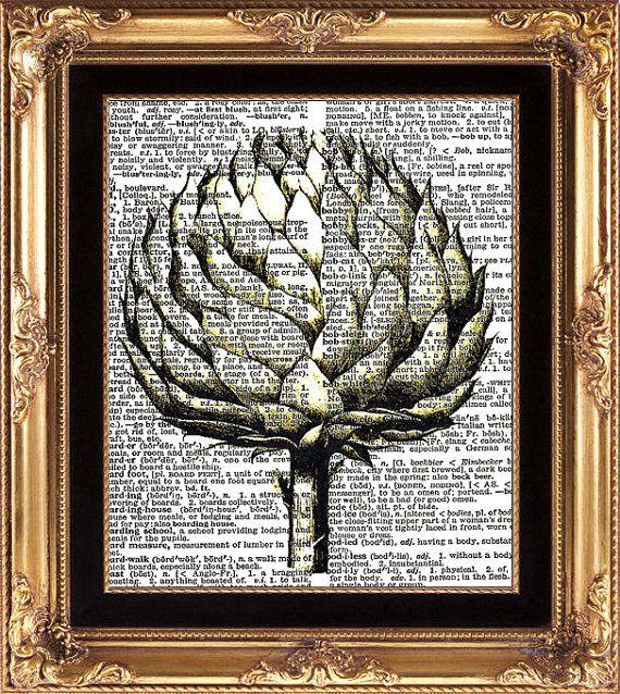 artichoke print