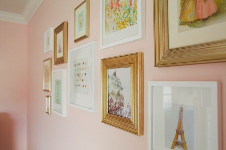 """A couple months' ago I talked about a pink and gold nursery that Erin and I have been working on. I'm excited to share the reveal with you today! Here is a little peek at the """"before"""". The room was already a pretty shade of pink and we had some super cute furniture to work …"""