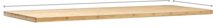 Pro Series Bamboo Cabinet Worktop