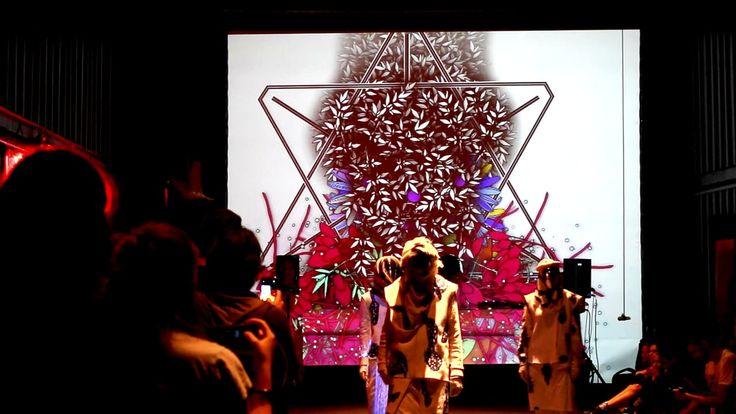 AudioVisual Performance during Catwalk // www.WillpowerStudios.com