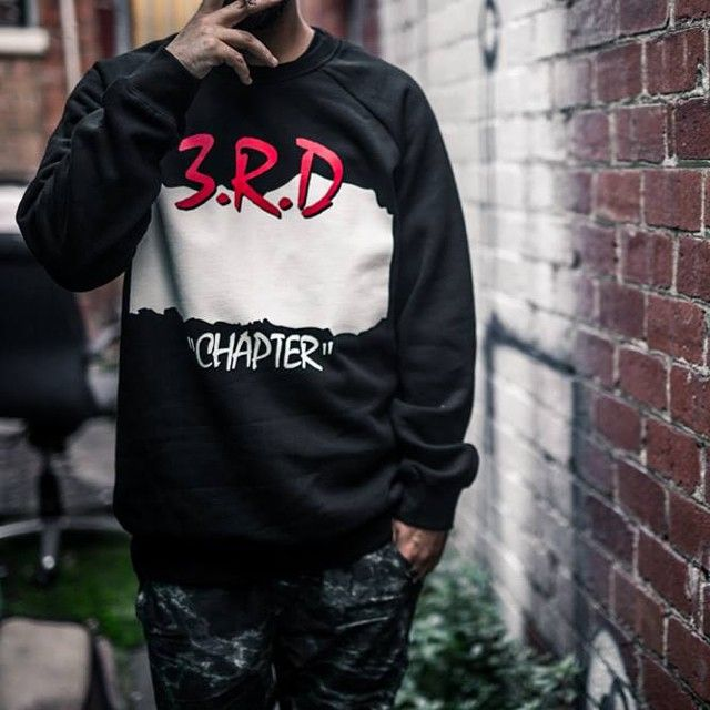 3C NWA Crewneck. Streetwear clothing by #ThirdChapter.