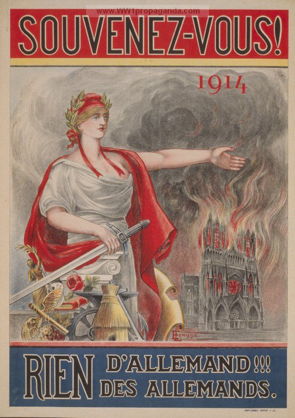 129 best images about ... World War 1 French Propaganda