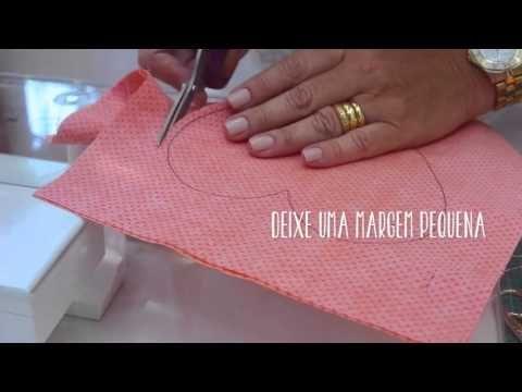 Dica de Sexta - Como cortar um círculo sem molde? (Tutorial Patchwork) - YouTube