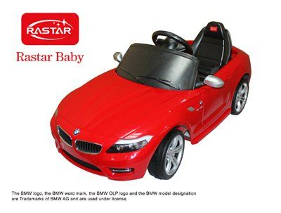 Amazon.com: Licensed BMW Z4 LIMITED EDITION Ride on Toy Battery Operated Car for Kids Remote Control with Key and Lights: Toys & Games