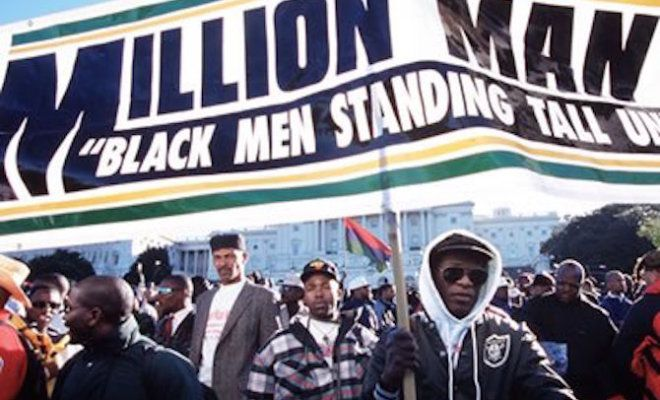 The Beginning  On Oct. 16, 1995, approximately 1 million Black men came together in Washington D.C. in response to a call by the Nation of Islam's leader minister Louis Farrakhan. The stated objective was to atone and address the problems particular to the Black community. Guest Speakers Even though the Million Man March focused primarily …