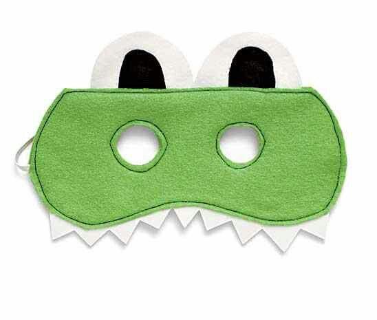 crocodile mask
