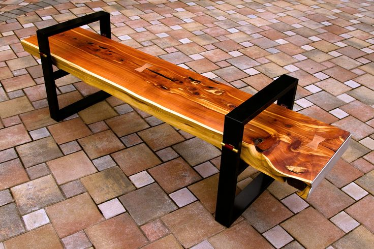 Live Edge Cedar Bench