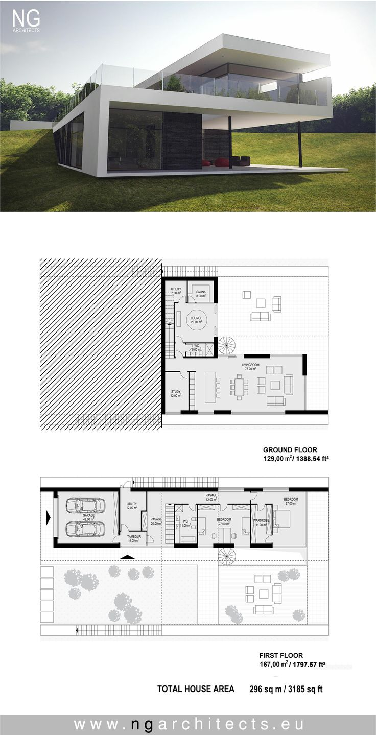 Modern villa Energy designed by NG architects