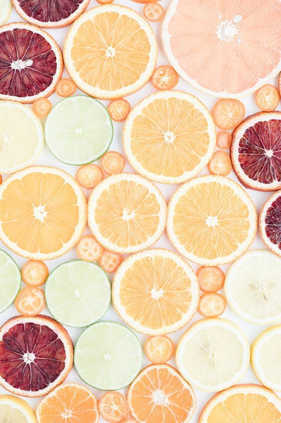 Oversized Art, Orange Photograph, Food Photography, Citrus Fruit Print, Grapefruit Orange Lime, Fruit Photograph, Home Decor, Kitchen Print