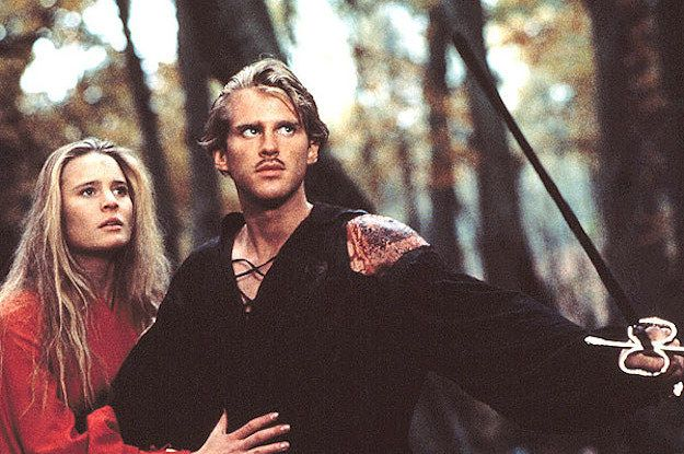Buttercup and Wesley from the Princess Bride. Their love was worth fighting for!