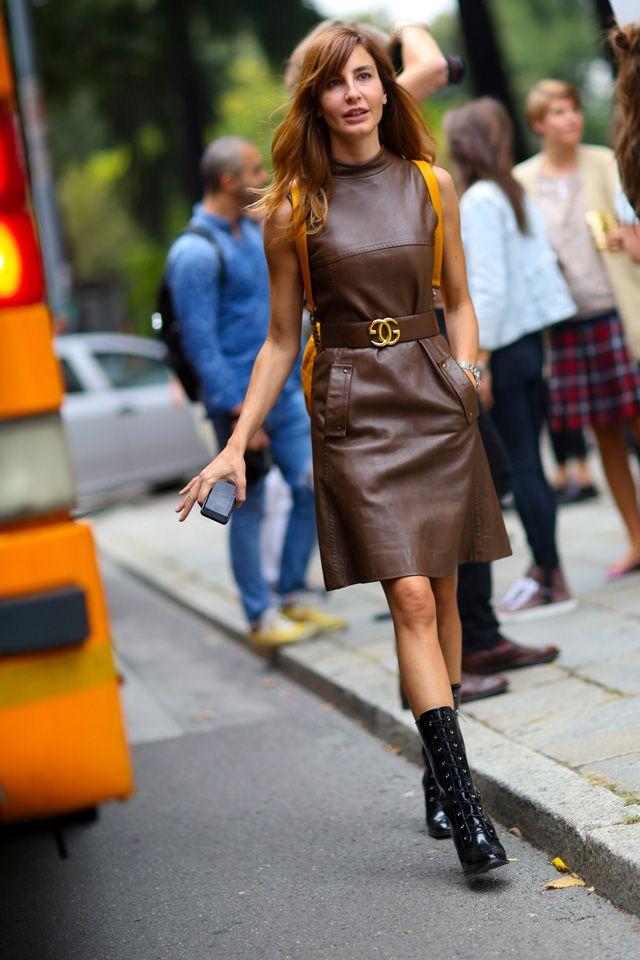 Неделя моды в Милане S/S 2015: street style. Часть II (фото 10)