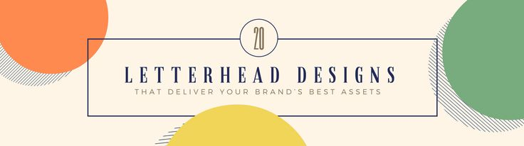Come across as professional to potential clients with a personalized business letterhead [free templates]