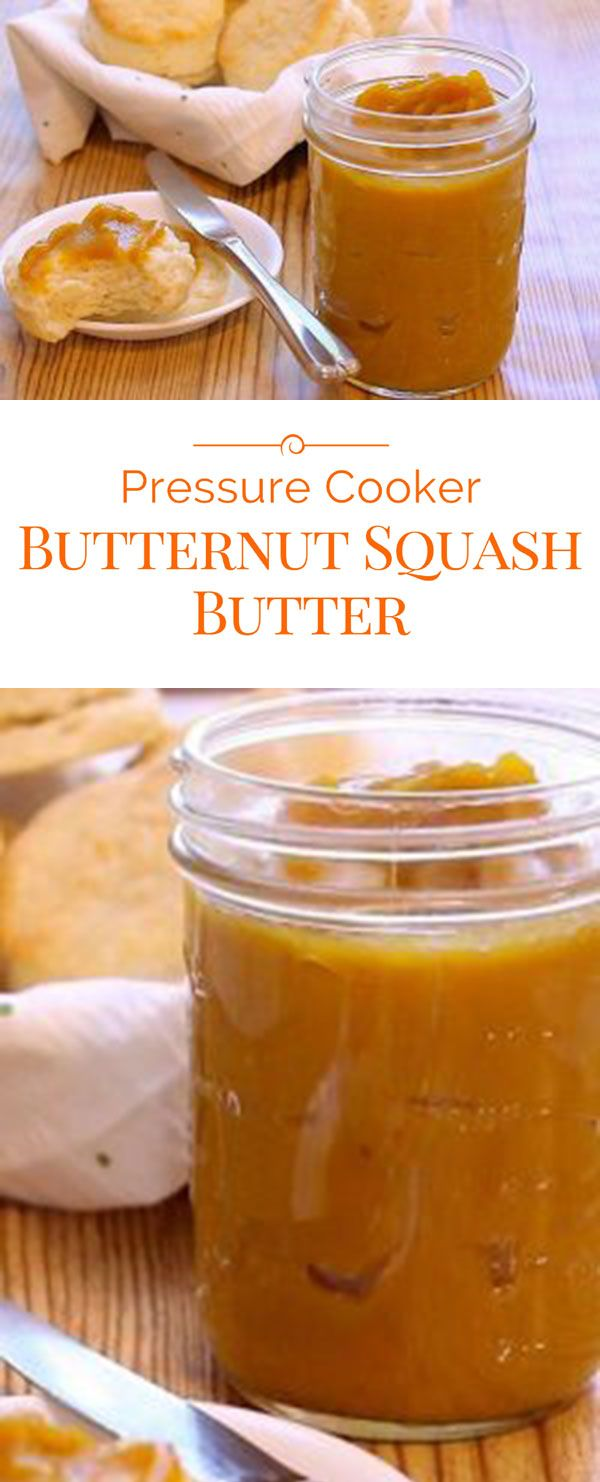Smooth and creamy, this Pressure Cooker Butternut Squash Butter is a delightful treat for your biscuits, toast and so much more.