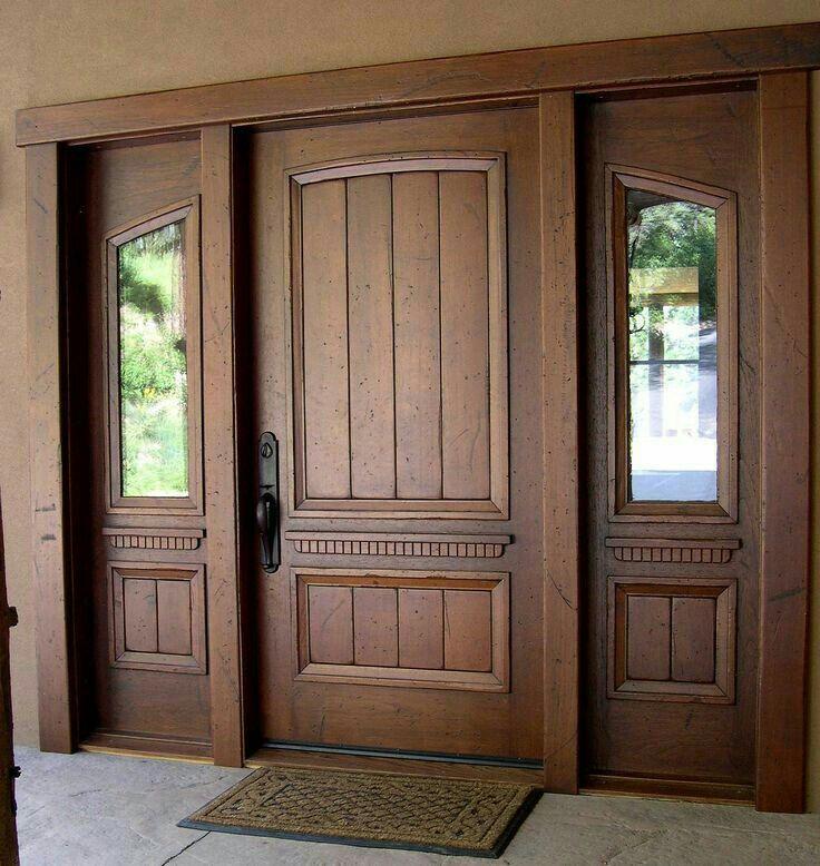 Front Door Paint Colors Want A Quick Makeover Paint Your Front Door A Different Color Here S S Main Door Design Wood Doors Interior Wooden Main Door Design