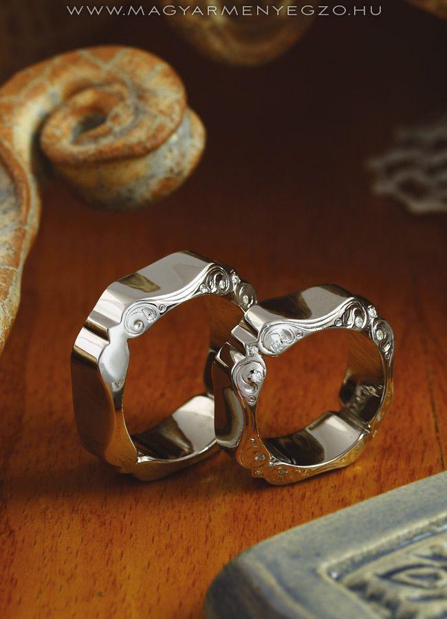 Cifrapalota - karikagyűrű - wedding ring - www.magyarmenyegzo.hu