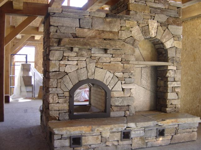 Masonry Heater This Is A Type Of Fireplace We Will Use For Our House Dream Home