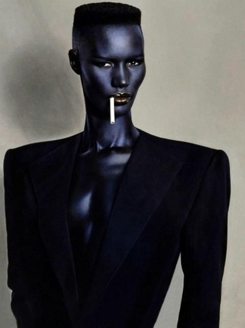 Grace Jones Chanel Tux Devastation Luxury Life Grace Jones