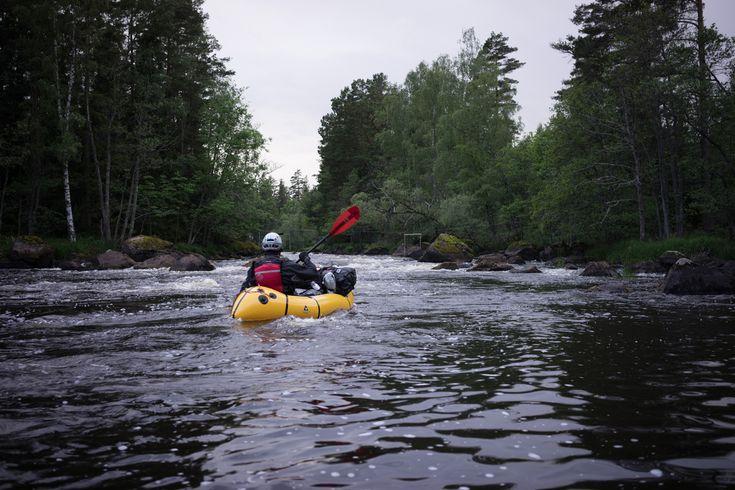 Packrafting Emån River