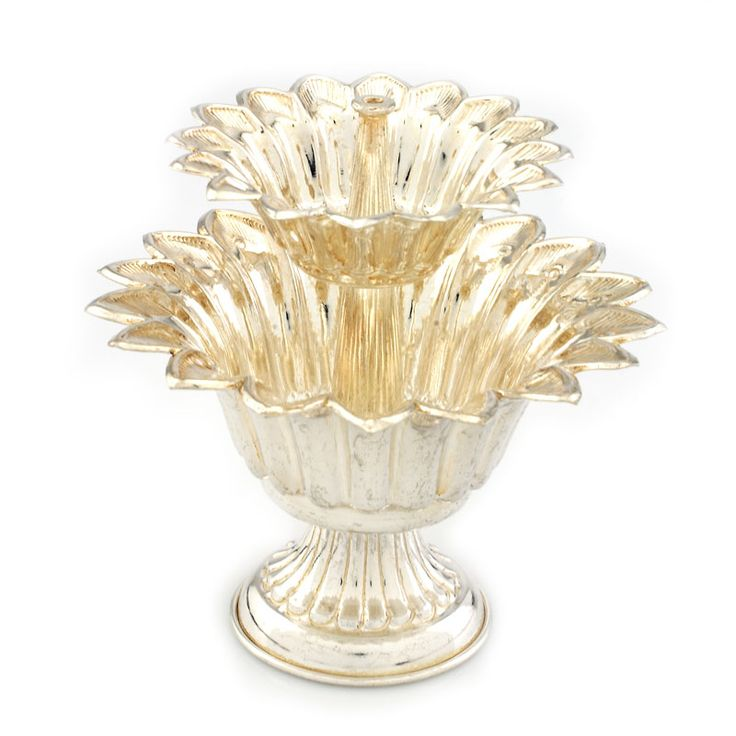Silver-Store | Pooja-Items | Agarbatti-stand--20-Grams | Agarbatti-stand--20-Grams (Approx-Weight) Two-St
