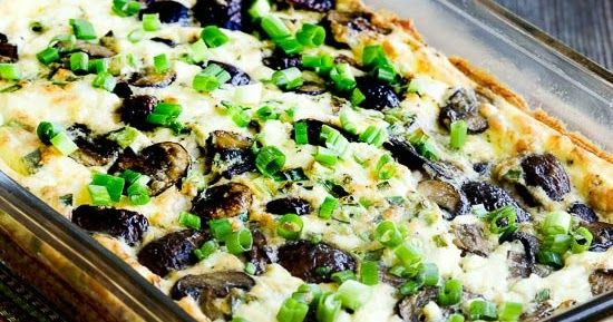 Mushroom and Feta Breakfast Casserole Recipe