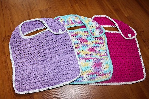 1000+ images about Crochet Baby Bibs on Pinterest Free ...