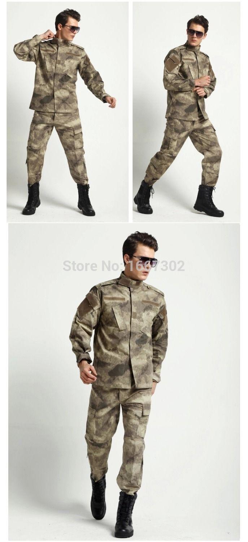 Армейское обмундирование tacs военный костюм мужчины боевые охота единые для Wargame пейнтбол армейское обмундирование