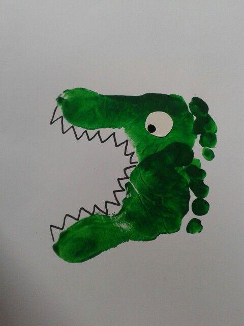 1000 ideas about activit manuelle t on pinterest for Peinture crocodile