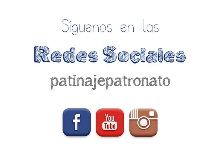 Síguenos en nuestras cuentas de facebook, youtube e instagram.  Recientemente estamos empezando nuestra andadura en Google + y Pinterest.