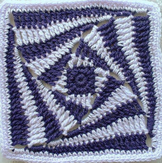 Crochet/FleurBelge PAP en como se hace