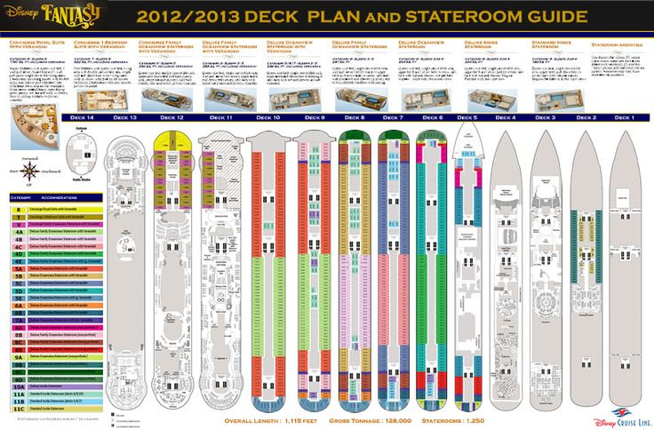 1000+ Ideas About Disney Fantasy Deck Plan On Pinterest