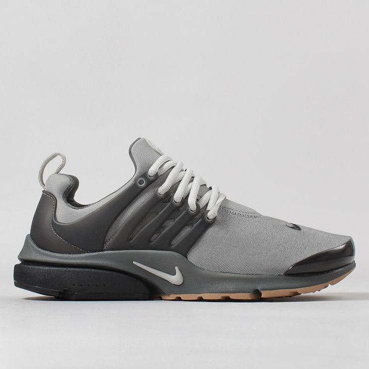 Nike Air Presto Premium Shoes - Tumbled Grey/Dark Base Grey
