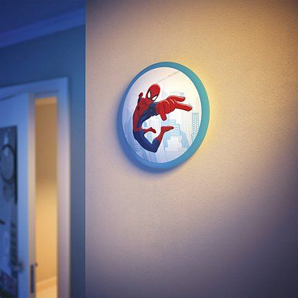 philips disney, lampka spiderman