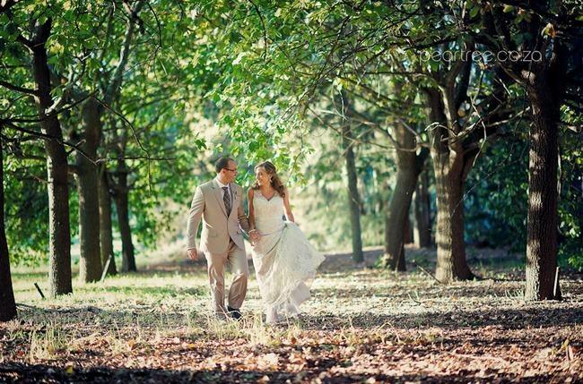 Top 20 Garden & Outdoor Wedding Venues in Cape Town | Confetti Daydreams - The Rhebokskloof Wine Estate offers romantic willow and oak tree surroundings perfect for outdoor or garden weddings ♥ #Rhebokskloof #Garden #Outdoor #Wedding #Venues #CapeTown