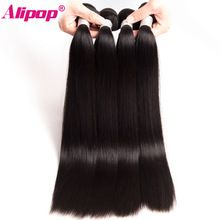 """ALIPOP Peruvian Straight Hair Bundles Remy Hair Weave Human Hair Bundles 10""""-28"""" 1PC Double Weft Hair Extension Can Be Dyed     Wholesale Priced Wigs, Extensions, And Bundles!     FREE Shipping Worldwide     Buy one here---> http://humanhairemporium.com/products/alipop-peruvian-straight-hair-bundles-remy-hair-weave-human-hair-bundles-10-28-1pc-double-weft-hair-extension-can-be-dyed/  #lace_front_wigs"""