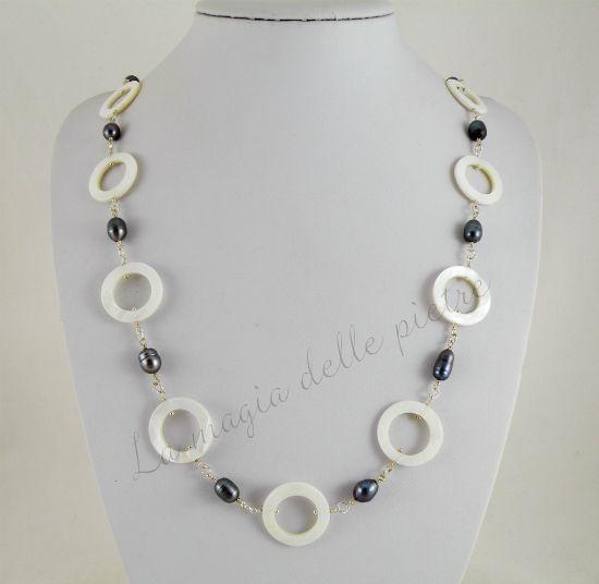 Perle nere e madreperla | La magia delle pietre