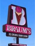 Braums is my favorite ice cream and burger joint when in Oklahoma. Their banana splits and cherry limeades are killer.