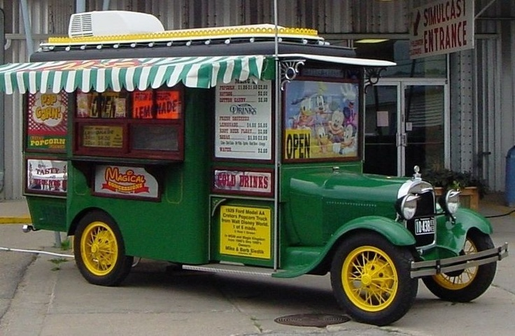 US 49,999.00 1929 Ford Model AA Cretors style Popcorn