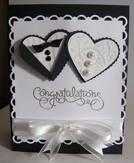 Wedding card from Creating A Great Hand Made Card; Simple Tips - Designer Mag | Designer Mag