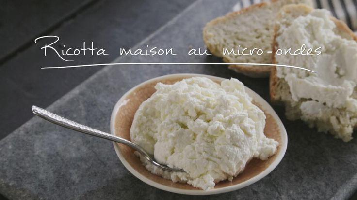 Ricotta maison au micro-ondes | Cuisine futée, parents pressés