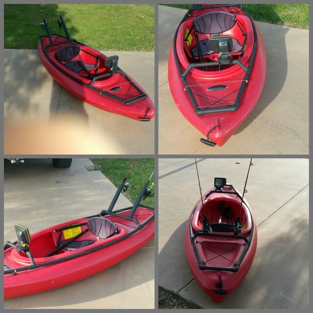 PVC Recreational Kayak Adapter Accessory Bar. PVC is very flexable and will hold in place around the cockpit coaming. - PimpMyKayak.com