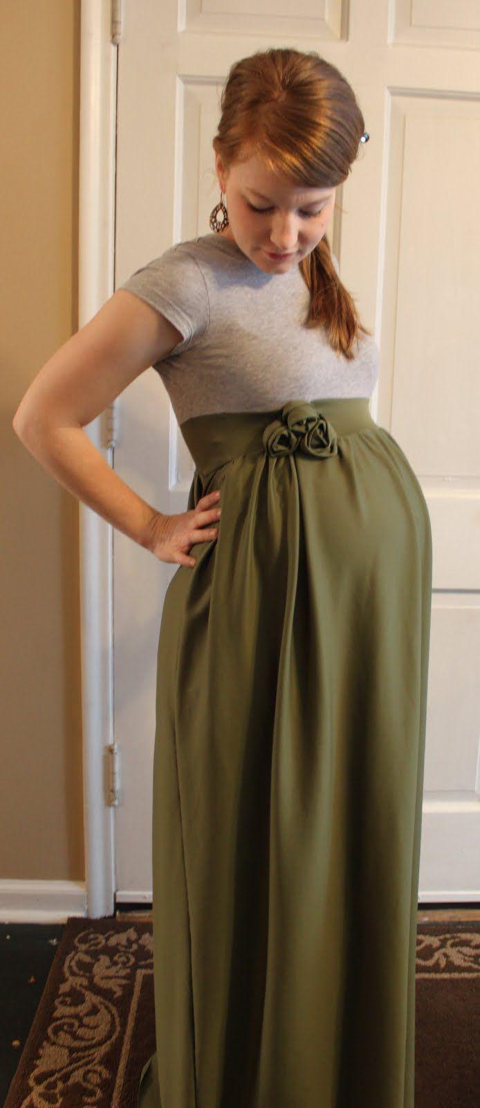 DIY maternity dress! I absolutely love it!