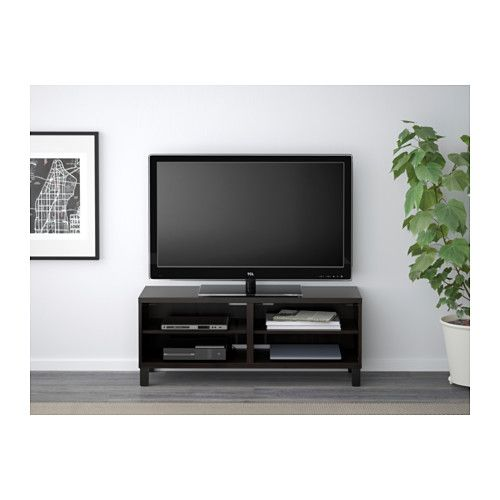 Hemnes Tv Unit Black-Brown : BEST? TV unit, blackbrown  Ikea tv, TVs and Cable